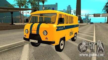 UAZ 2206 Polizei für GTA San Andreas