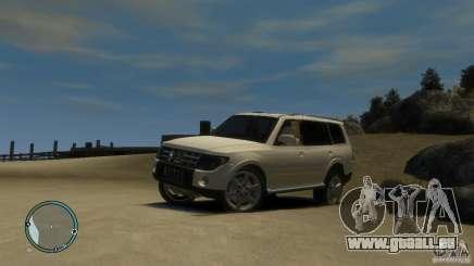 Mitsubishi Pajero Wagon pour GTA 4
