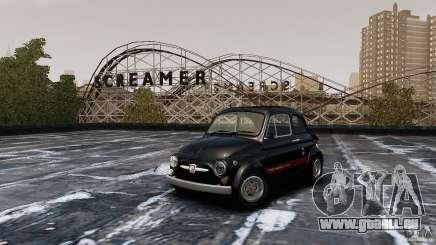 Fiat 500 695 Abarth pour GTA 4