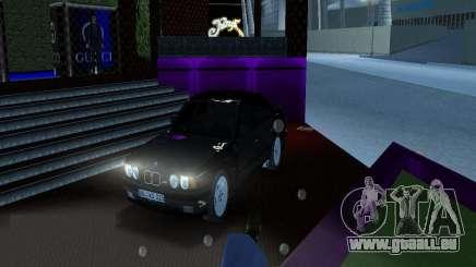 BMW M5 E34 1990 pour GTA Vice City