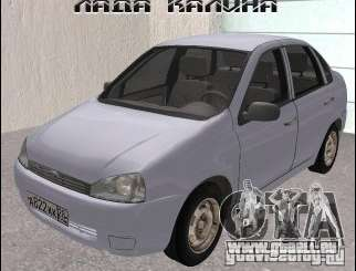 Lada 1118 pour GTA San Andreas