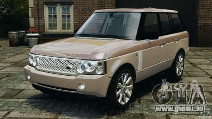 Range Rover Supercharged 2008 pour GTA 4