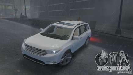 Toyota Highlander 2012 v2.0 pour GTA 4
