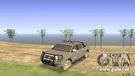 Toyota Tundra 4x4 pour GTA San Andreas