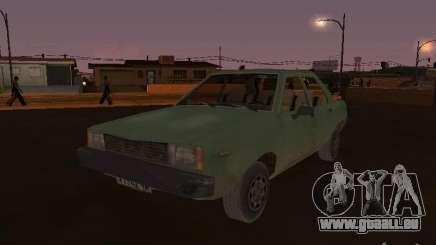 Machine de CoD: MW pour GTA San Andreas