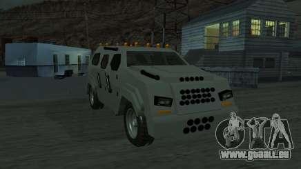 FBI Truck from Fast Five für GTA San Andreas