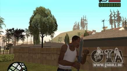 Gladius Knife für GTA San Andreas
