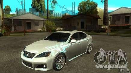 Lexus IS F 2009 pour GTA San Andreas