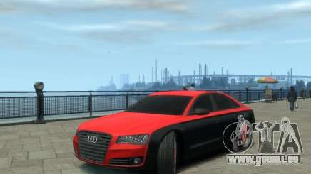 Audi A8 tuning pour GTA 4