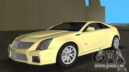 Cadillac CTS-V Coupe für GTA Vice City