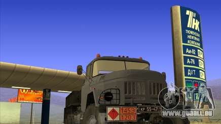 ZIL 131 Tankwagen für GTA San Andreas