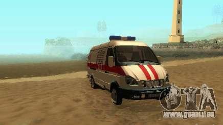 Gazelle 32214 Ambulance pour GTA San Andreas