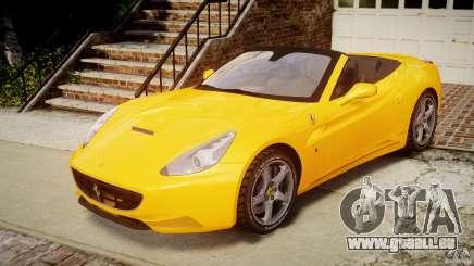 Ferrari California v1.0 für GTA 4