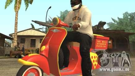 Vespa N-50 Pizzaboy pour GTA San Andreas