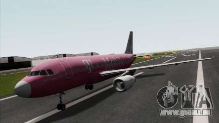 Airbus A319 Spirit of T-Mobile pour GTA San Andreas