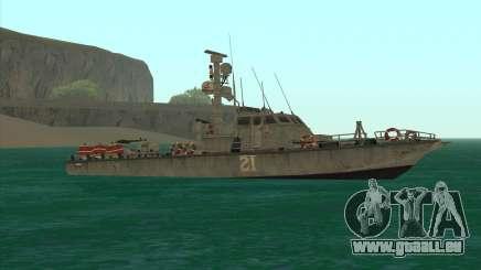 Militärische Boot vom CODMW3 für GTA San Andreas