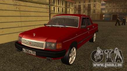 Volga GAZ 31029 Sl für GTA San Andreas