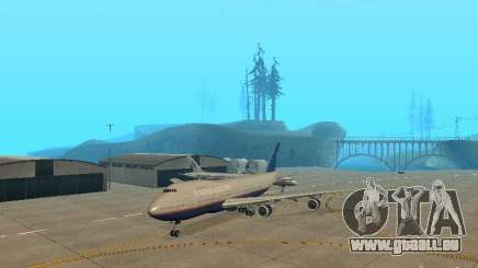 Boeing 747-100 United Airlines pour GTA San Andreas
