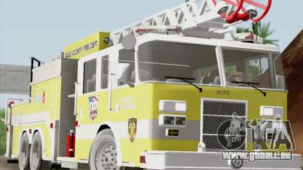 Pierce Arrow XT BCFD Tower Ladder 4 pour GTA San Andreas