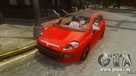 Fiat Punto Evo Sport 2010 pour GTA 4