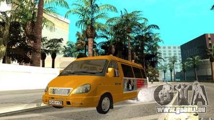 Gazelle 32213 (Restajl) pour GTA San Andreas