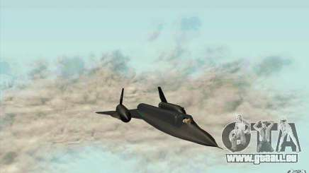 SR-71A BLACKBIRD BETA für GTA San Andreas