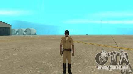 New uniform cops on bike pour GTA San Andreas