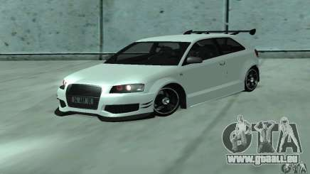 Audi S3 Full tunable für GTA San Andreas