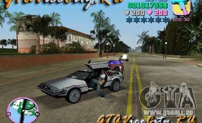 De Lorean pour GTA Vice City