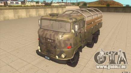 IFA 6x6 Army Truck pour GTA San Andreas