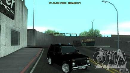 VAZ 21213 NIVA FBI pour GTA San Andreas