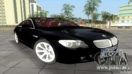 BMW 645Ci für GTA Vice City