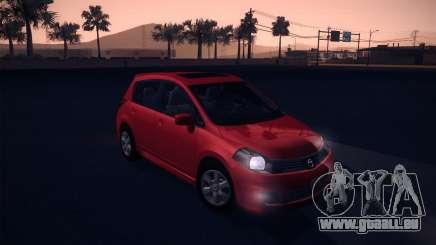 Nissan Versa Stock pour GTA San Andreas