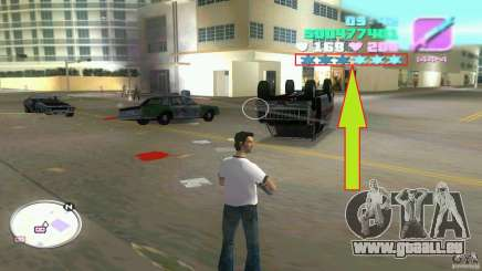 Wanted Level = 0 für GTA Vice City