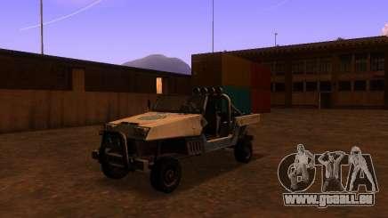 Pickup-Truck von T3 für GTA San Andreas