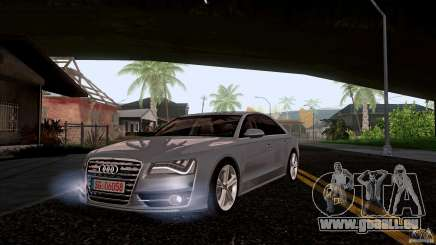 Audi S8 2012 für GTA San Andreas