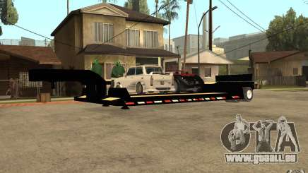 Trailer lowboy transport pour GTA San Andreas