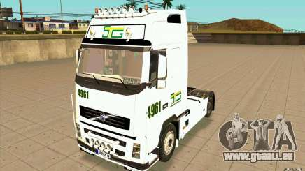 Volvo FH16 Globetrotter STG pour GTA San Andreas
