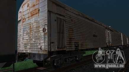 Refrežiratornyj wagon Dessau n7 pour GTA San Andreas