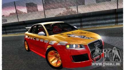 Audi RS4 Calibri-Ace pour GTA San Andreas