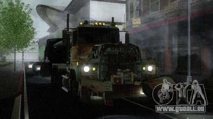 Armored Mack Titan Fuel Truck für GTA San Andreas