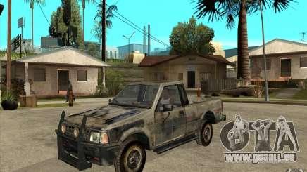 Rusty Mazda Pickup für GTA San Andreas