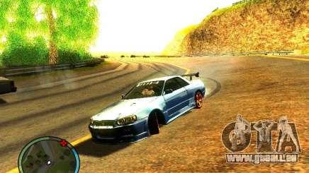 Nissan Skyline B324R für GTA San Andreas