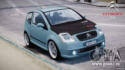 Citroen C2 Light Tuning [Beta] pour GTA 4