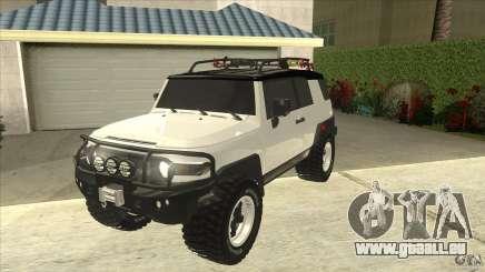 Toyota FJ Cruiser für GTA San Andreas