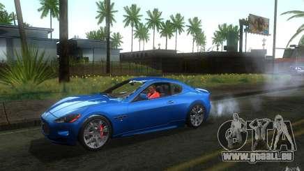 Maserati Gran Turismo S 2011 pour GTA San Andreas