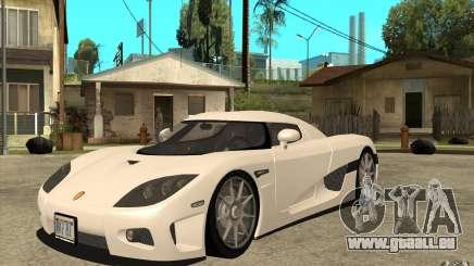 Koenigsegg CCX - Stock für GTA San Andreas