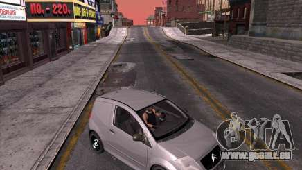 Citroen C2 workers car pour GTA San Andreas