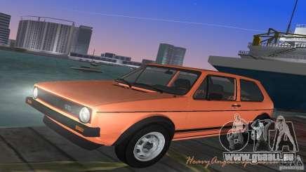 Volkswagen Golf Mk1 GTI für GTA Vice City