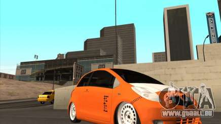 Toyota Yaris II Pac performance für GTA San Andreas